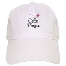Pink Butterfly Cello Player Cap