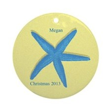 Personalized Starfish Ornament