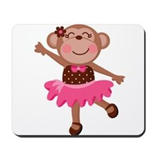 Monkey Ballerina Mousepad