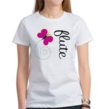 Cute Butterfly Flute Tee