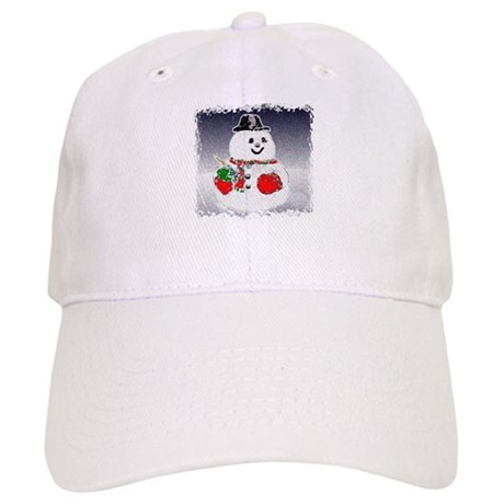 Winter Snowman Cap