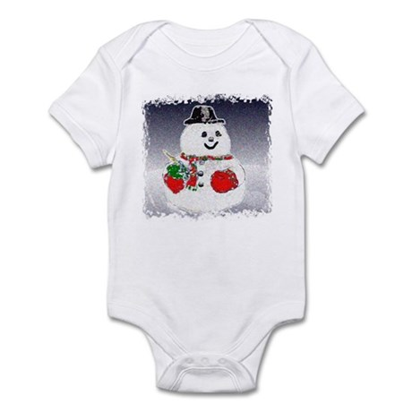 Winter Snowman Infant Bodysuit