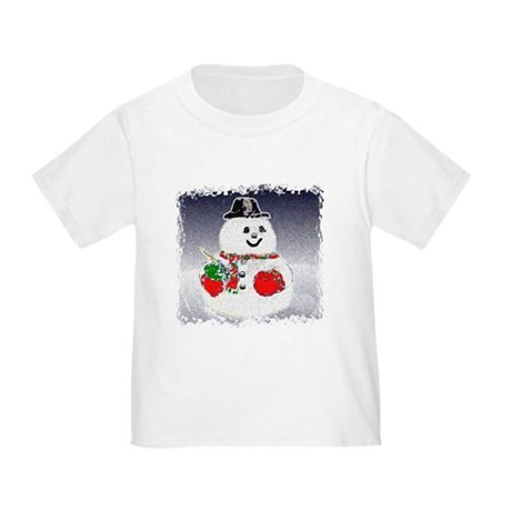 Winter Snowman Toddler T-Shirt