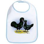 Crevecoeur Chickens Bib
