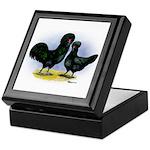 Crevecoeur Chickens Keepsake Box