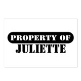 Property of Juliette Postcards (Package of 8)