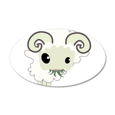 Cartoon Sheep Wall Decal