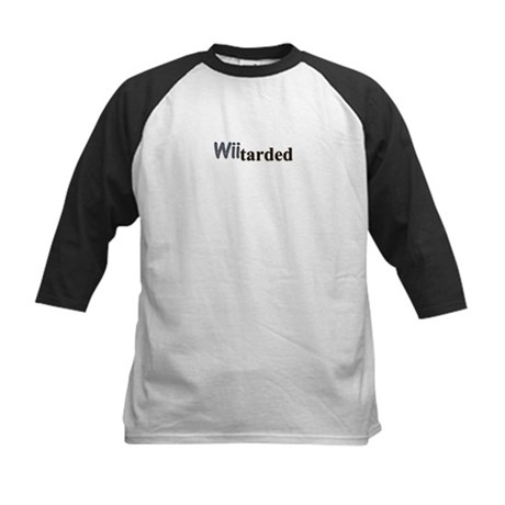 wiitarded Kids Baseball Jersey