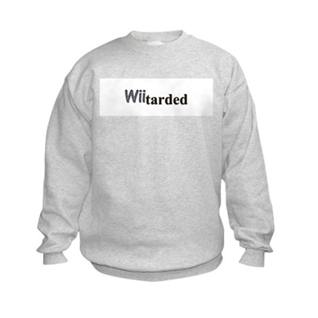 wiitarded Kids Sweatshirt