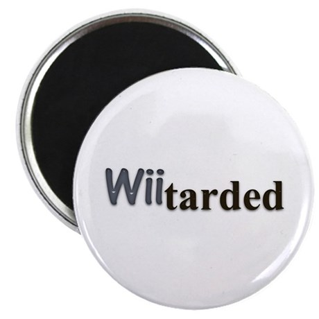 "wiitarded 2.25"" Magnet (100 pack)"