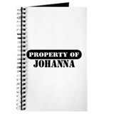 Property of Johanna Journal