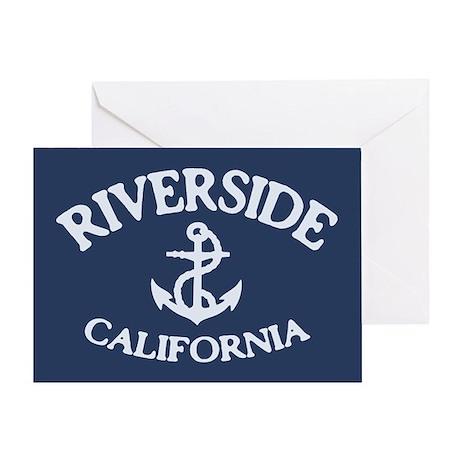 Riverside Sailing Greeting Card