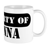 Property of Joanna Small Mugs