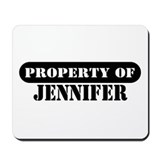 Property of Jennifer Mousepad
