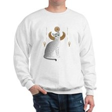 Cool Egyptian cat Sweatshirt
