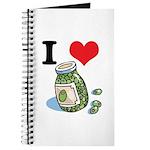 I Heart (Love) Green Olives Journal
