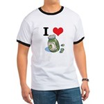 I Heart (Love) Green Olives Ringer T