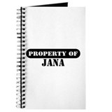 Property of Jana Journal