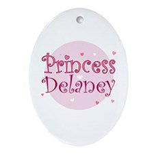 Delaney Oval Ornament
