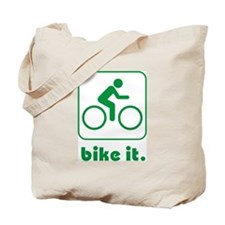 Bike It Tote Bag