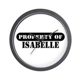 Property of Isabelle Wall Clock