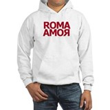 Roma Amor Red Jumper Hoody