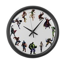 Cute Vbs Large Wall Clock