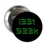 "l33t 933k - 2.25"" Button (10 pack)"