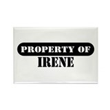 Property of Irene Rectangle Magnet (100 pack)