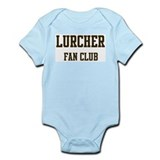Lurcher Fan Club Infant Bodysuit