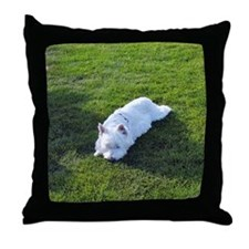 WEST HIGHLAND WHITE TERRIER: WESTIE LOVE Throw Pil