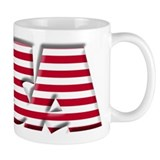 Word Art USA Mug