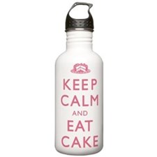 Keep Calm And Eat Cake Water Bottle
