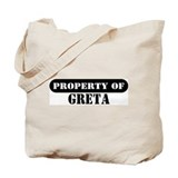 Property of Greta Tote Bag