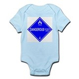 Dangerous When Wet Infant Bodysuit