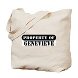 Property of Genevieve Tote Bag