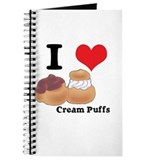 I Heart (Love) Cream Puffs Journal