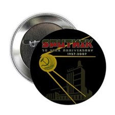 "SPUTNIK 2 2.25"" Button (10 pack)"