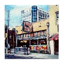BLUES CAFE BEALE STREET Tile Coaster