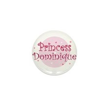 Dominique Mini Button (10 pack)