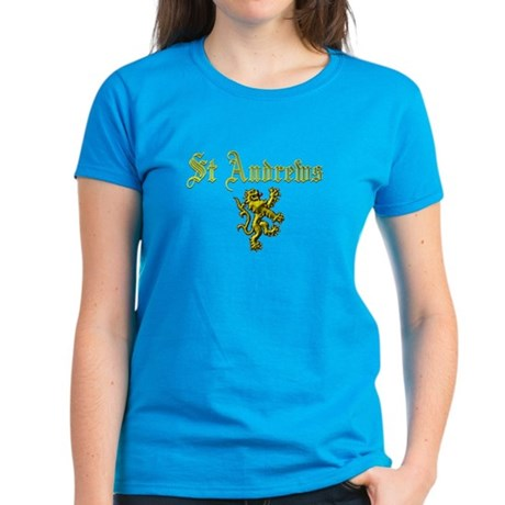 St Andrews. Women's Dark T-Shirt