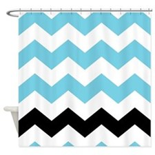Chevron Shower Curtains Chevron Fabric Shower Curtain Liner
