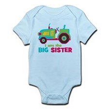 I am the Big Sister - Tractor Infant Bodysuit