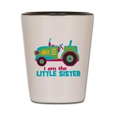 I am the Big Sister - Tractor Shot Glass