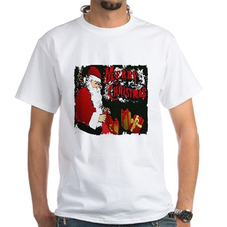 Merry Christmas White T-Shirt