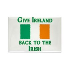 Give Ireland Back Rectangle Magnet (100 pack)