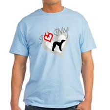 Bedlington Terrier Ash Grey T-Shirt