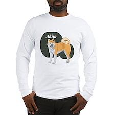 Akita Title Long Sleeve T-Shirt