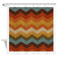 Southwestern Shower Curtains | Southwestern Fabric Shower Curtain