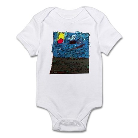 Two Asteroids Infant Bodysuit